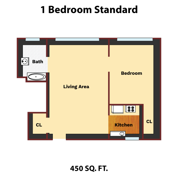 1-bedroom-standard-layout