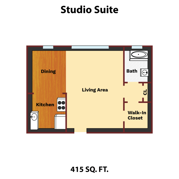 room layouts the jefferson apartments and suites